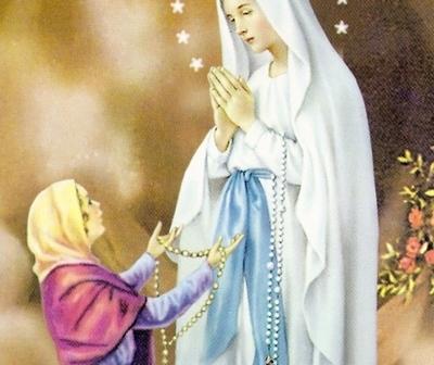 La Iglesia católica celebra a Nuestra Señora de Lourdes