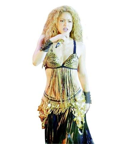 Shakira está que explota de celos
