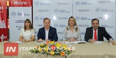 MINISTROS DEL PODER EJECUTIVO SUSCRIBIERON CONVENIO QUE BENEFICIARÁ A COMUNIDADES VULNERABLES