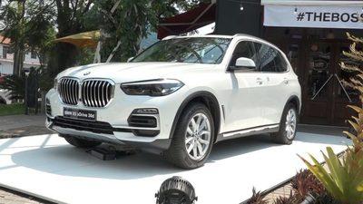 Llegó al país el nuevo BMW X5