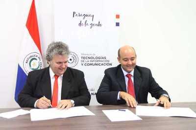 Mitic y Copaco acuerdan habilitar internet gratuito en 117 espacios públicos
