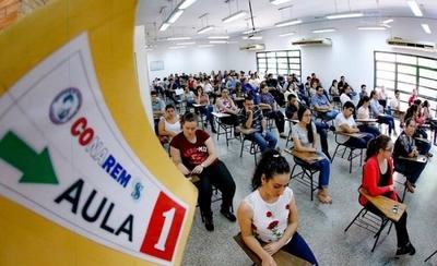 HOY / CONAREM inicia el examen a 1044 postulantes para especialidades y subespecialidades médicas
