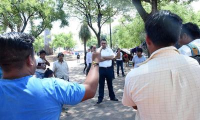 Nativos recurren a vandalismo, denuncian – Prensa 5
