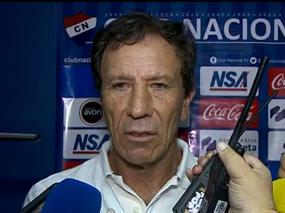 Declaración de Hugo Caballero, técnico de Nacional