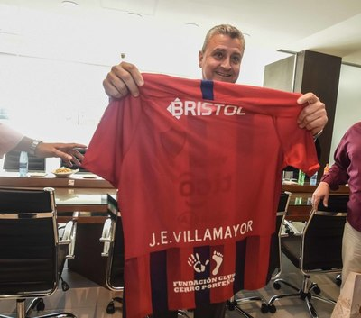 Juan Ernesto Villamayor visitó la Nueva Olla