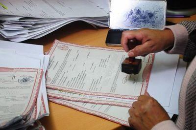 Dirección General del Registro CIvil reprograma presupuesto