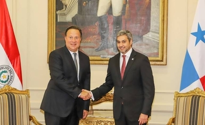 HOY / Presidente de Panamá inicia visita oficial al Paraguay