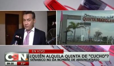"""Senabico no da detalles de uso de bienes de """"Cucho"""""""