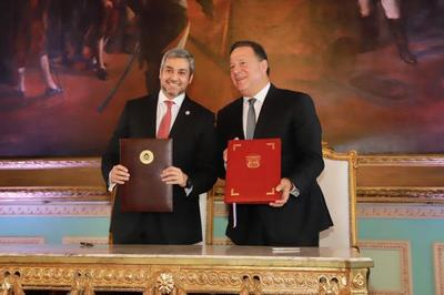 Paraguay y Panamá acuerdan fortalecer cooperación e intercambio comercial