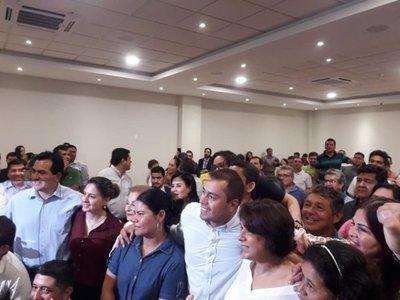 CDE: Prieto presentó su candidatura a intendente