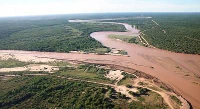 Emiten alerta por crecida del río Pilcomayo para 10 comunidades chaqueñas