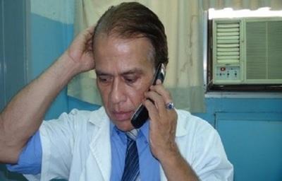 Doctor Cubas guarda prisión en penal de Emboscada