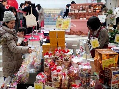 San Valentín, la agridulce fecha dorada del chocolate japonés