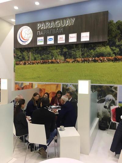 Frigoríficos paraguayos participaron de importante feria en Rusia