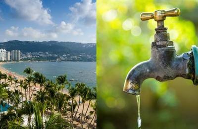 Acapulco se quedó sin agua por no pagar la luz