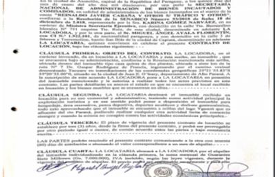 El hombre que alquila la mansión de Cucho, dio detalles del contrato