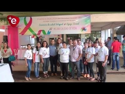 Campaña de sensibilización sobre enfermedades lisosomales en Encarnación