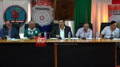 FEDERACIÓN POLICIAL NACIONAL SESIONÓ EN ITAPÚA.