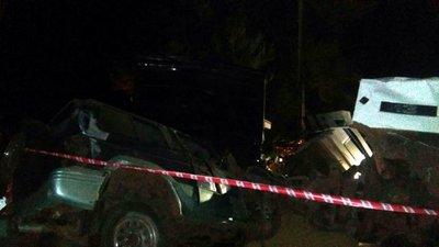 Reportan accidente de tránsito en Yaguaron