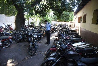 Policía incautó 105 biciclos en 24 horas