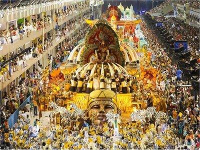 Carnaval en Río de Janeiro contará con más seguridad y menos desfiles