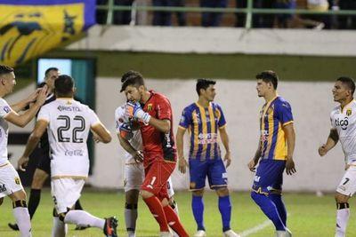 Guaraní doblegó a Luqueño