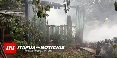 OTRO INCENDIO EN TRINIDAD DEJA NIÑOS SIN ROPA.