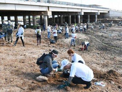 Más de 1.000 voluntarios participaron en la limpieza del arroyo Mburicaó