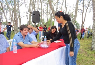 Villa Florida: Hicieron el sorteo de lotes y manzanas para familias en el Complejo Habitacional