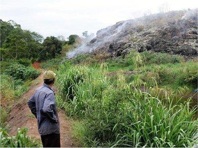 CDE: Urgen fin de polución ambiental causada por viejo vertedero municipal