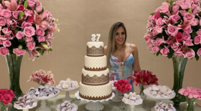 La Fiesta De Cumpleaños Con La Que Derlis González Sorprendió A Su Esposa En Brasil