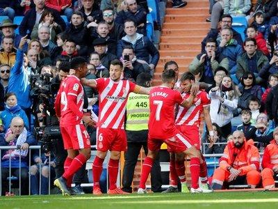 Triunfazo: Girona remonta al Real Madrid en 10 minutos