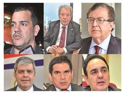 Suman ocho precandidatos en puja por conducción de la ANR