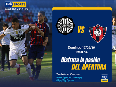 Previa del partido Olimpia vs. Cerro Porteño