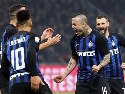 El Inter, con Icardi en la grada, vence a la Sampdoria