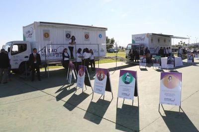 Móvil de Ciudad Mujer hará parada en Canindeyú, este martes