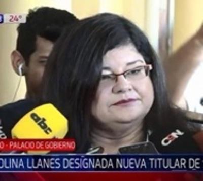 Carolina Llanes, nueva ministra de Senabico