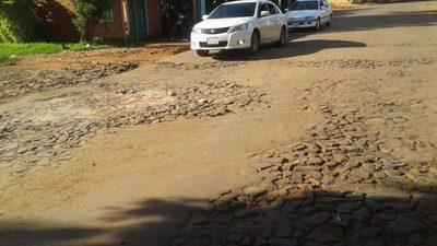 CDE y Franco tienen paralizada pavimentación de avenida Amambay