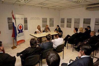 Mediadores analizan plan operativo para el 2019
