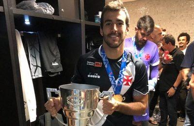 Raúl Cáceres ya es campeón en Brasil