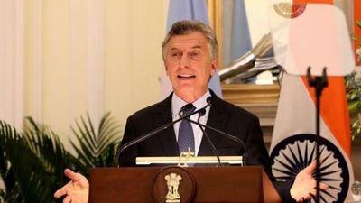 Macri ve relación con la India como una puerta para el comercio Asia-América