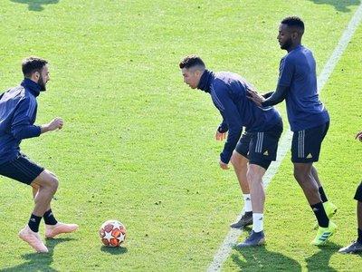 La Juventus ultima en Turín la preparación de la visita al Atlético