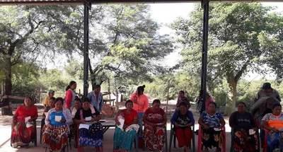 Realizan jornada de sensibilización a mujeres indígenas de Filadelfia