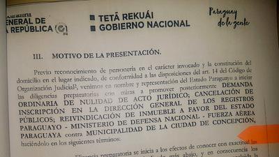 El Estado busca recuperar el puerto vendido por Urbieta.