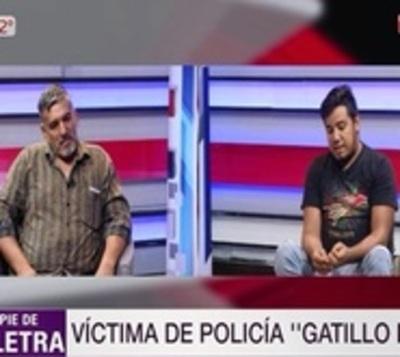 """Richard Pereira: """"Parecían ratas los policías, se desaparecieron"""""""