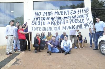 Exigen intervención de la comuna de Hernandarias en medio de pedido de documentos ante la justicia