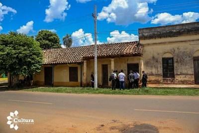 Solicitan apoyo a SNC para crear un centro cultural en casona antigua de Eusebio Ayala