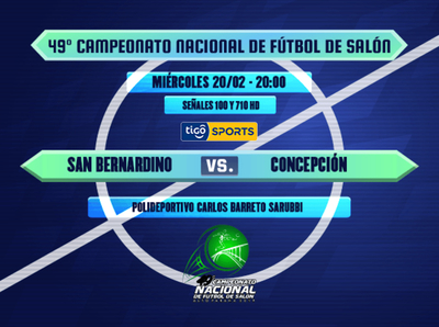 Se inicia el cuadrangular final del Nacional de Fútbol de Salón