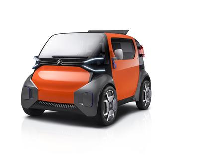 Citroën Ami One Concept: así será la movilidad urbana del futuro