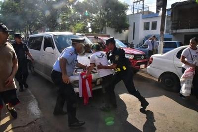 Incidentes en San Lorenzo luego de elección de intendente
